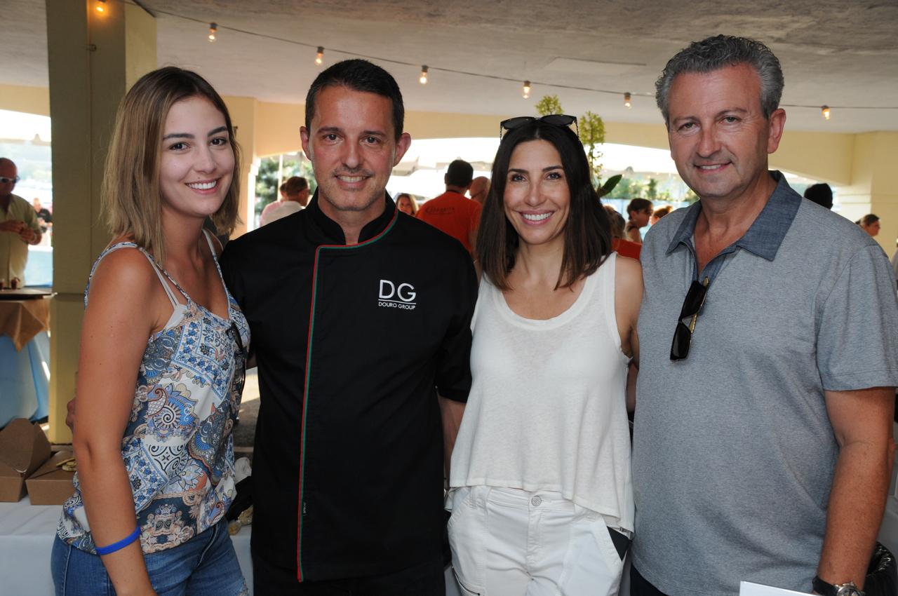 Brune Russo, Chef Rui Correia, Maria Correia, Ron Shemesh - Douro