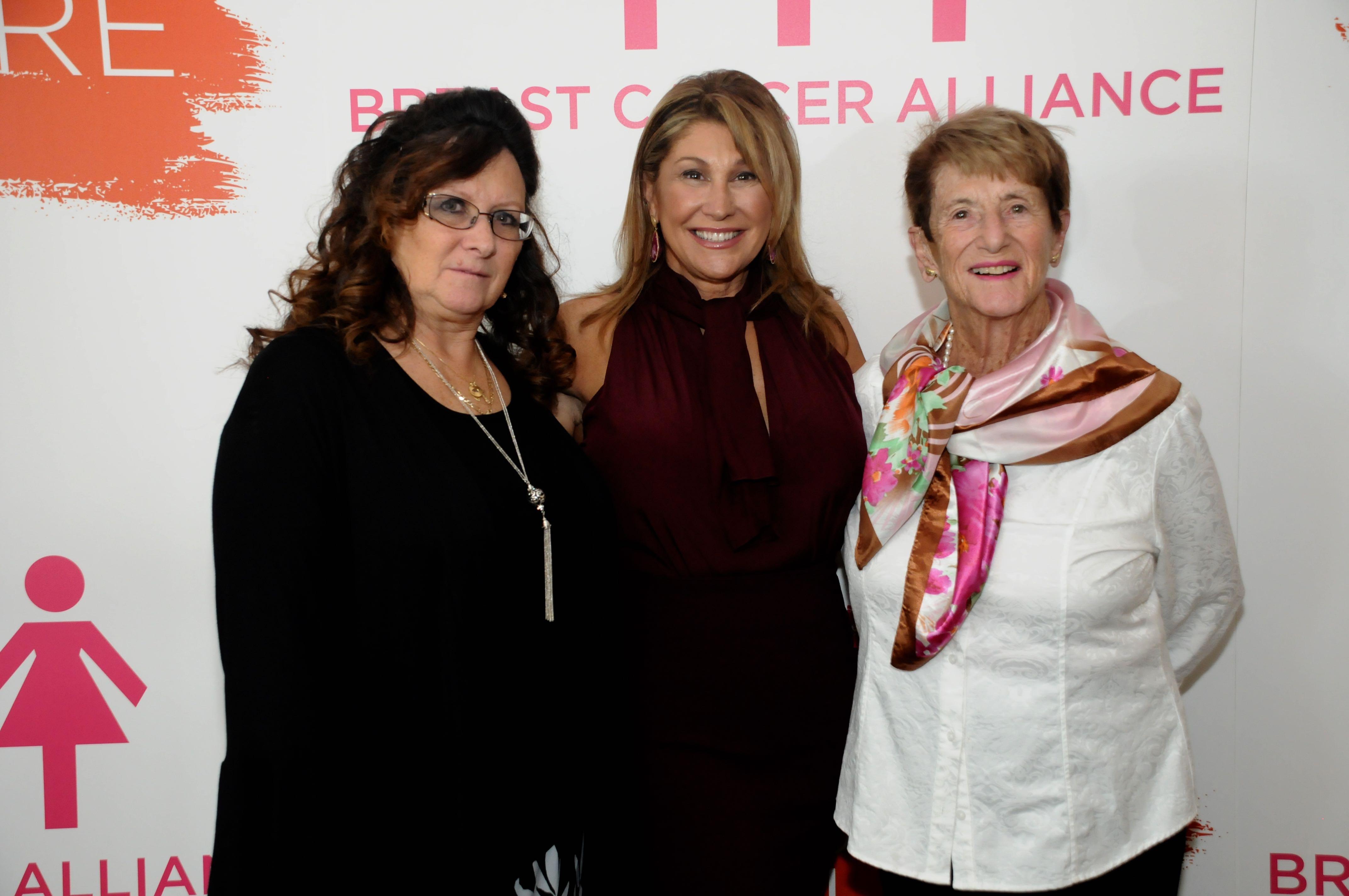Tina DeRosa, Mary Ann Grabel, Pat Grabel