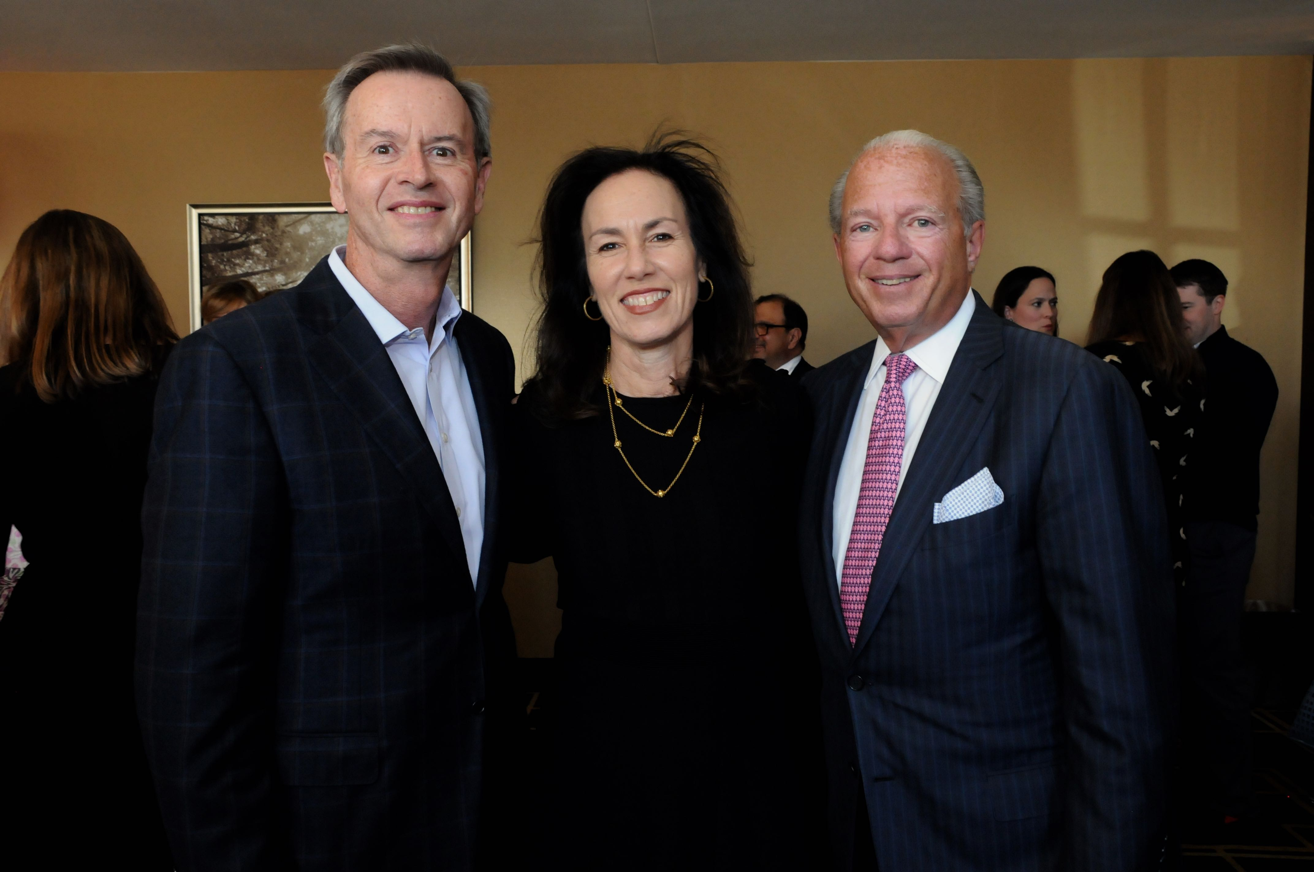 Kurt Bloedell, Dr. Linda LaTrenta, Frank Corvino