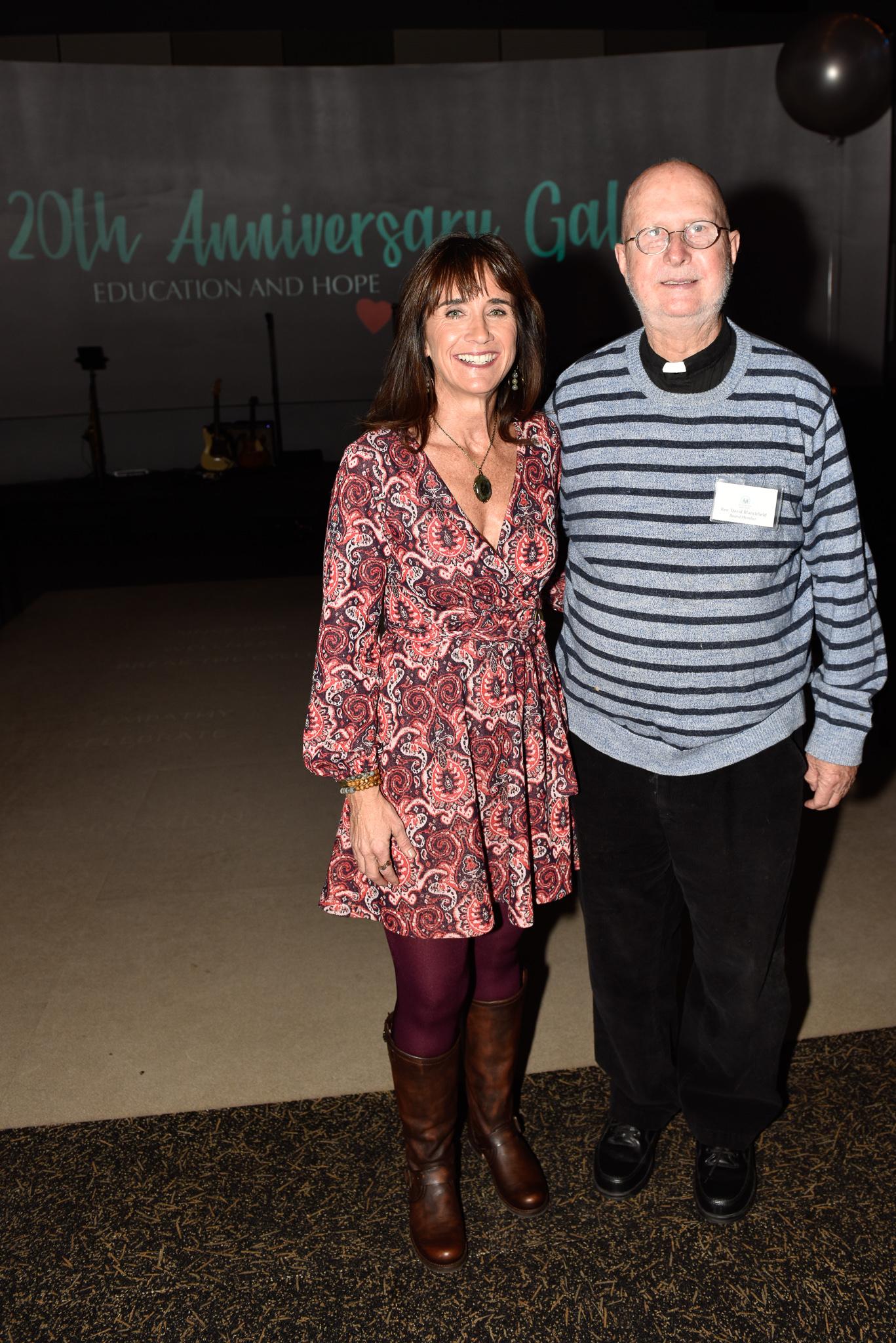 Julie Coyne, Father David Blanchfield
