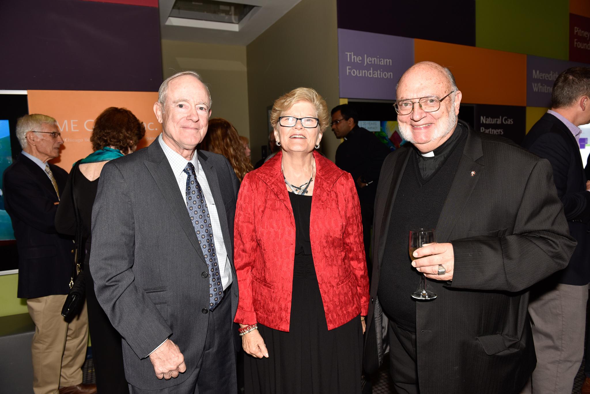 Bob Whitney, Peg Whitney, Father Scheyd