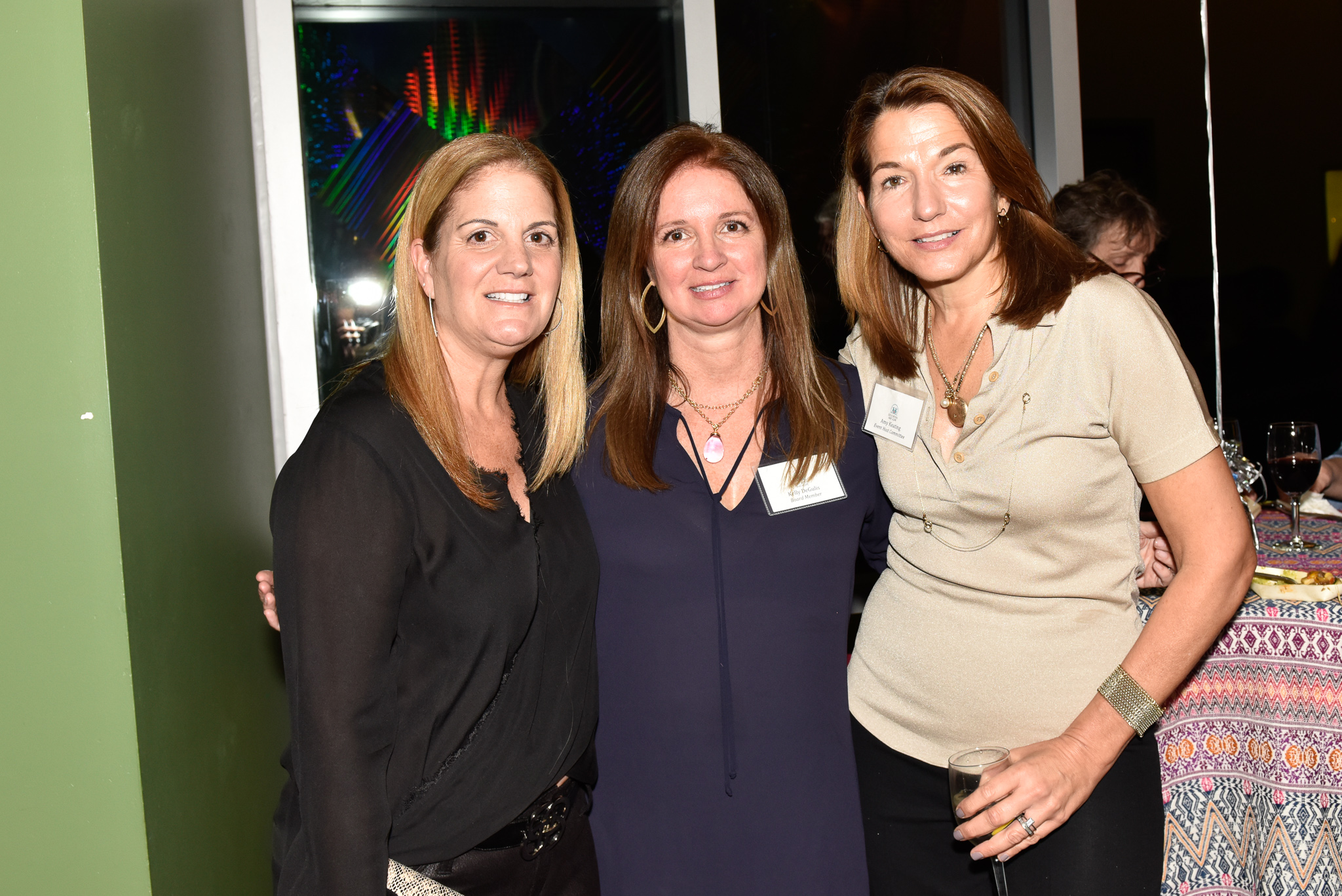 Dina Quirk, Kelly DeGulis, Amy Keating
