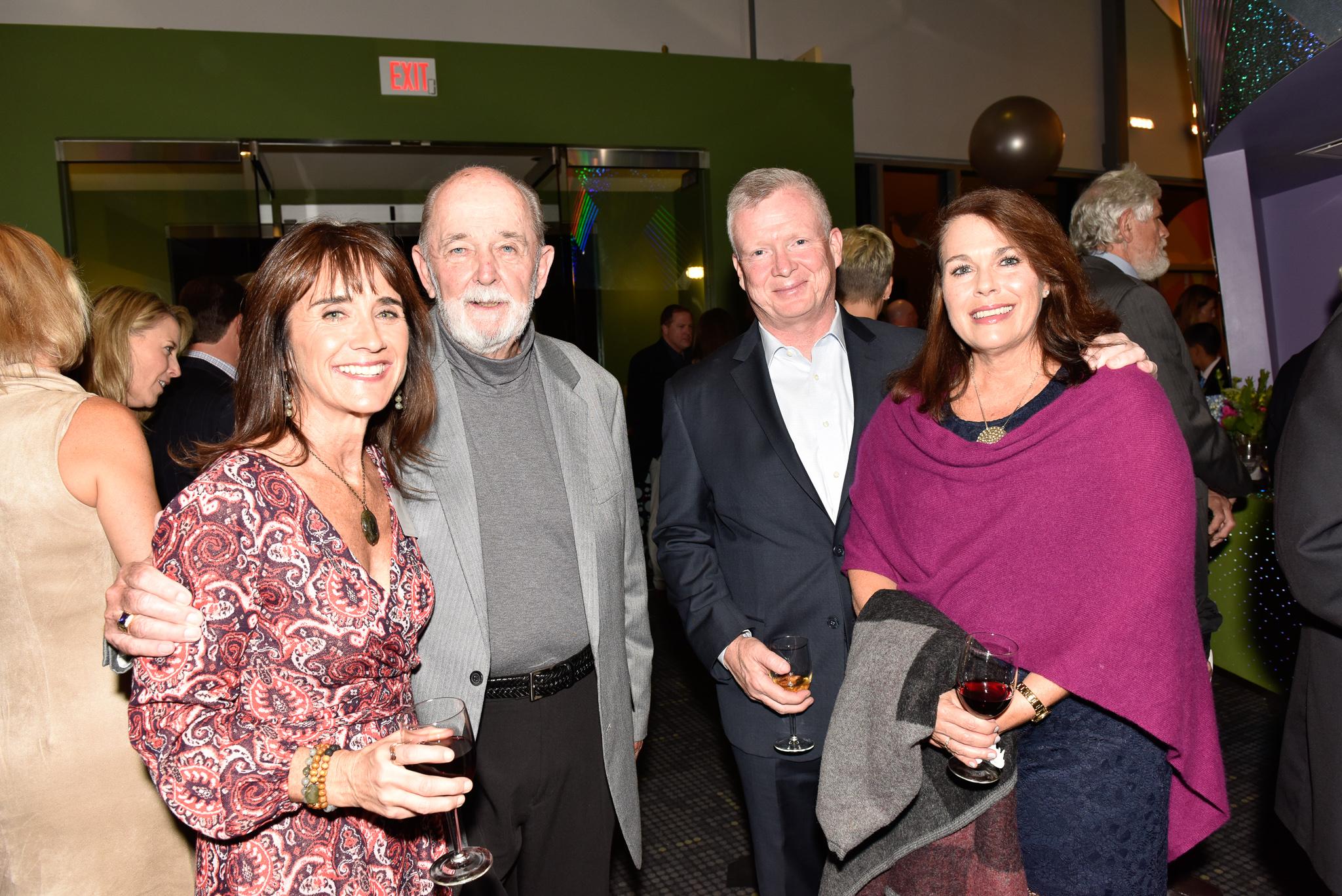 Julie Coyne, Gene Coyne, Jack Donahue, Leslie Grattan Donahue