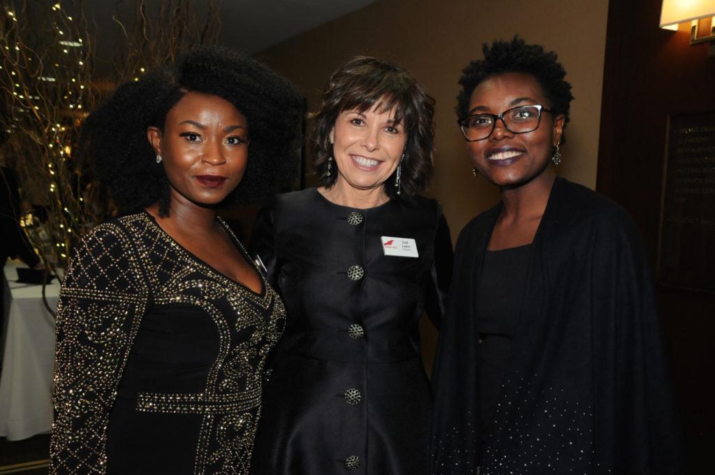 Kislene Bosse Belizare, Gail Lauro, Claudine Jean Baptiste