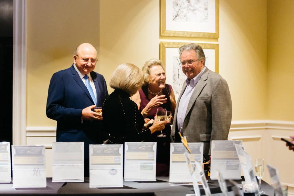 Charles Magyar, Rita Magyar, Lynn Krois and Bill Horn