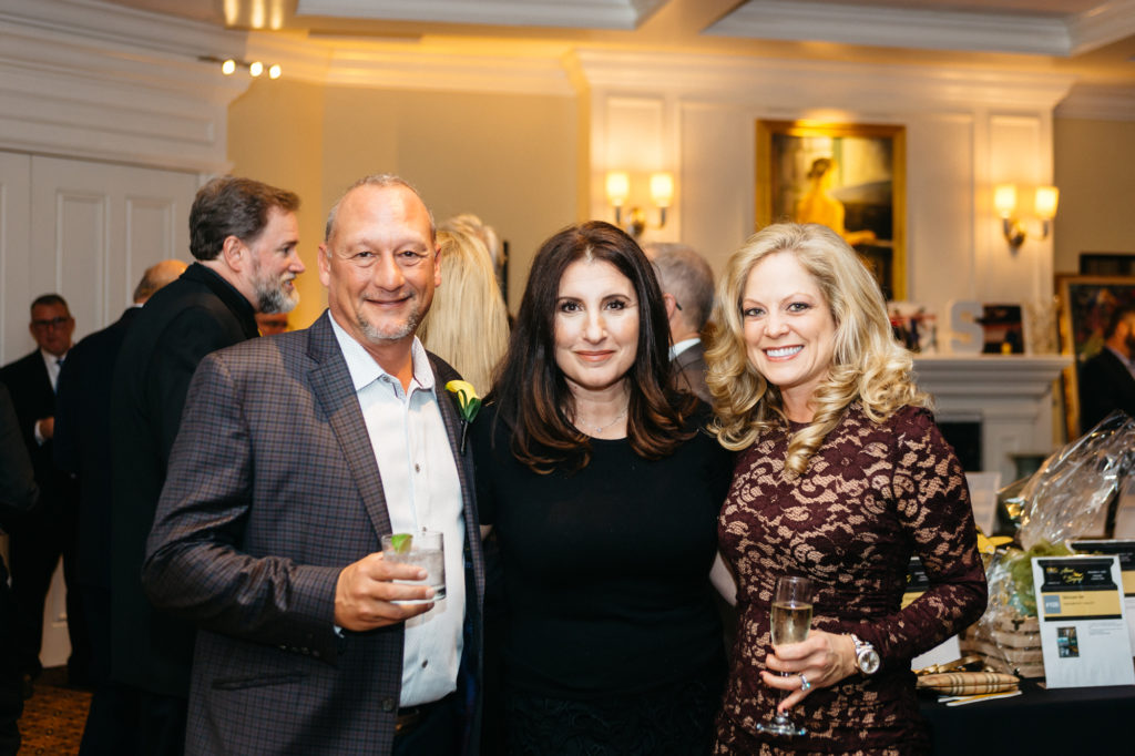 Michael Denigris, Maria Ward and Janinne Denigris