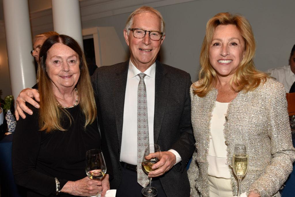 Gail and Bob Lawrence, Judith Wertheimer