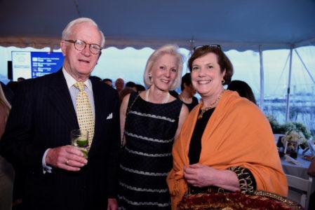 Barrett Burns, Patricia Burns, Tina Lindstedt