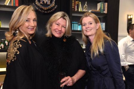 Janine Kennedy, Patricia Ekvall, Sharayne Muir