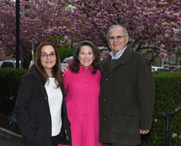 Jane Perelman, Susan Bevan,  Tony Daddino