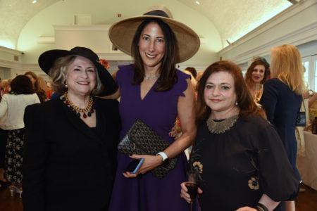 Sherry Heitler, Jill Blomberg.  Lynn Villency Cohen
