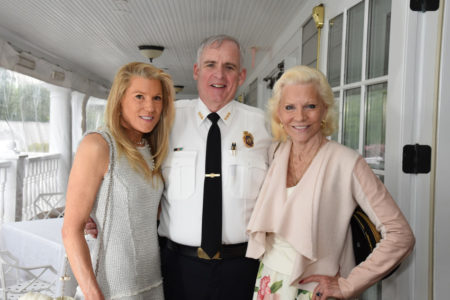 Tina Pray, Chief James Heavey, Sabrina Forsythe