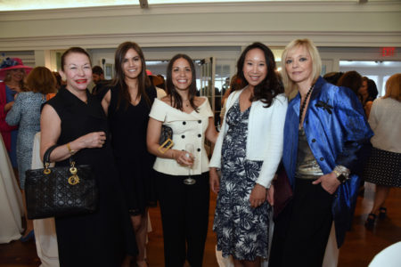 Tracy Holton,  Alison Russo, Abbie Idavoy,  Katie Fong Biglin, Avril Graham