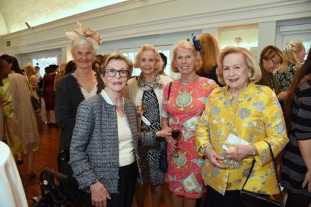 Joy Ubina, Heather Reed, Cissy Ix, Susan Ness, Marianne Wyman