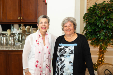 Georgette Gouveia and Mary Shustack