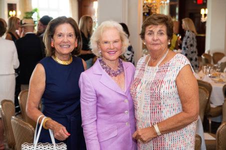Lucy Glasebrook, Margaret Bragg and Pam Goergen