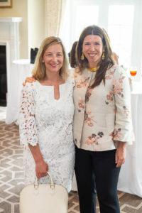 Cathy Schulz and Stellene Volandes