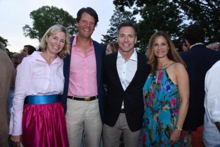 Catherine Kaplan, Teddy Kaplan. Dr. Tom Wilson, Elisa Wilson