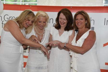 Susan Reynolds Lehman, Sabrina Forsythe, Mary Lee Kiernan, Terry Lamantia Cataldo