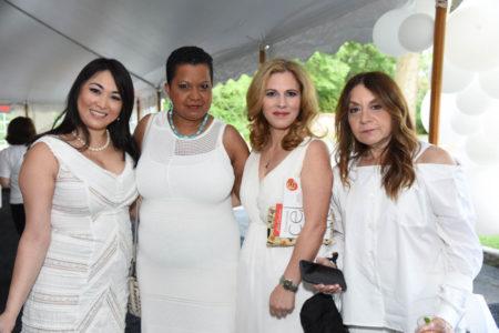 Michelle Drummond, Eleanor Gomes, Maggie Dedushi. Lori Light