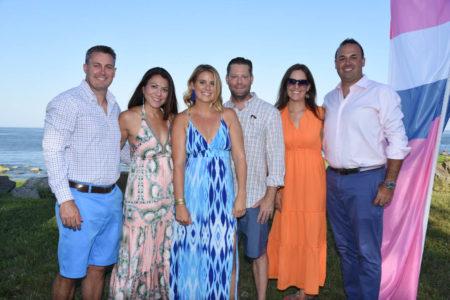 Rich Pocock, Sarah Pocock, Jamie Voehl, Eric Voehl, Kristina Manganiello, John Manganiello