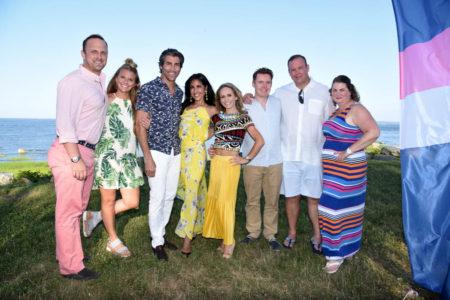 Drew Kelley, Rachel Kelley, Duke Perucci, Missy Perucci, Charlie O'Neil, John O'Neil, Rob Hadley, Julie Hadley