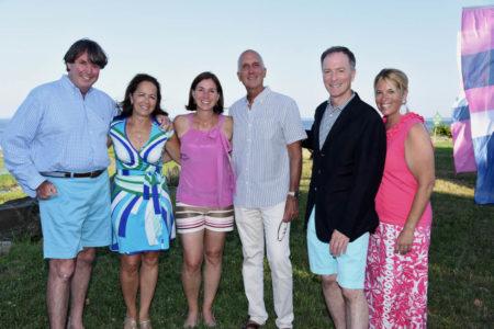 Scot Weicker, Lisa Weicker, Rachel Franco, Chris Franco. Gideon Fountain, Suzanne Wamsley