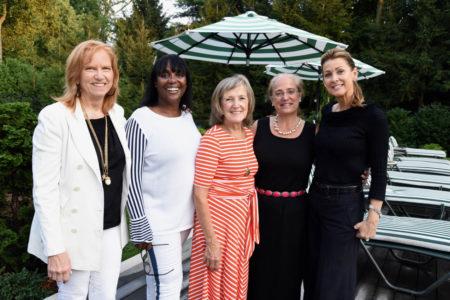 Bobbi Eggers , Claudette Rothman, Joan Stewart Pratt, Lin Lavery.                                       Tracey Stetler