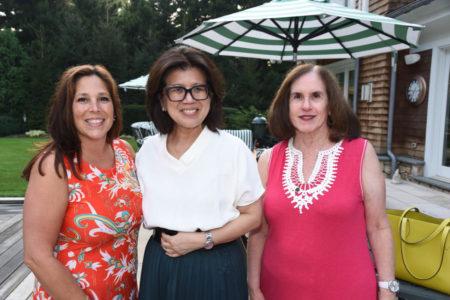Joanne Cavalier, Kathy Sio. Pam Rutt