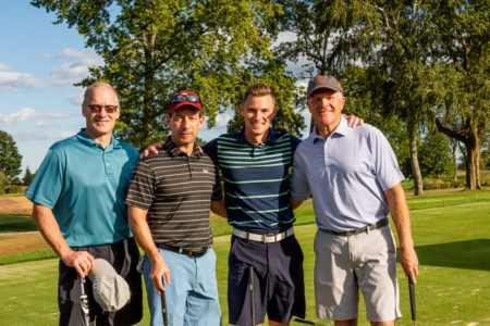 Tab Wampfler, Larry Selzer, Tyler Campbell, John Foster