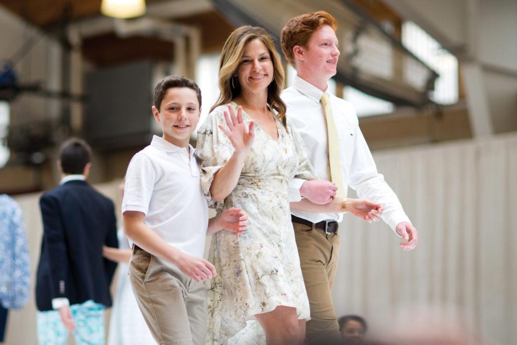 Travis, Elisa and Tyler Wilson