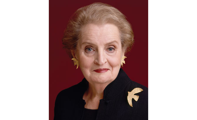 Former Secretary of State Madeleine K. Albright to speak April 11 Luncheon in Greenwich supports the Fund for Women and Girls