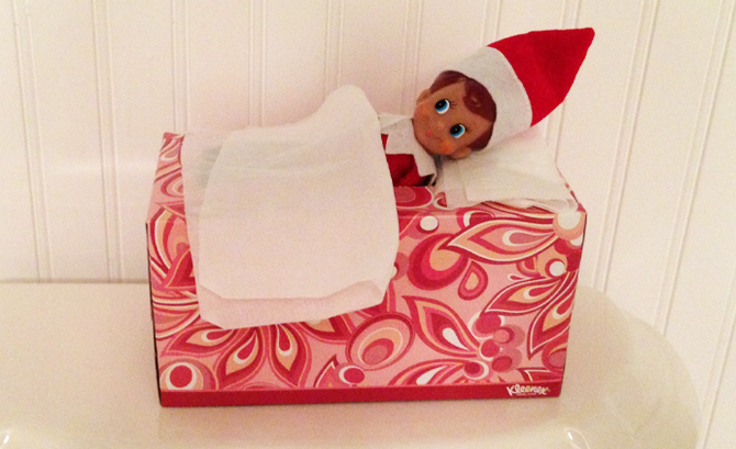 How Elf on a Shelf saved this mother's sanity…