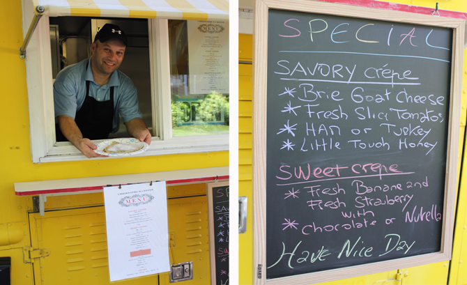 Chefs test their skills and thrill the masses from mobile food trucks