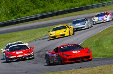 The Ferrari Challenge at Lime Rock