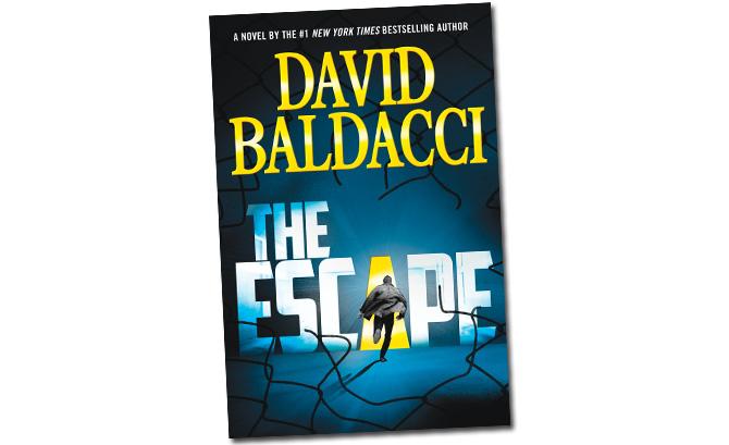 """Book cover of """"The Escape"""""""