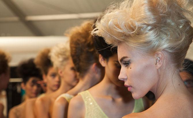 Badgley Mischka Spring/Summer runway looks + how to get the look from MAC Cosmetics