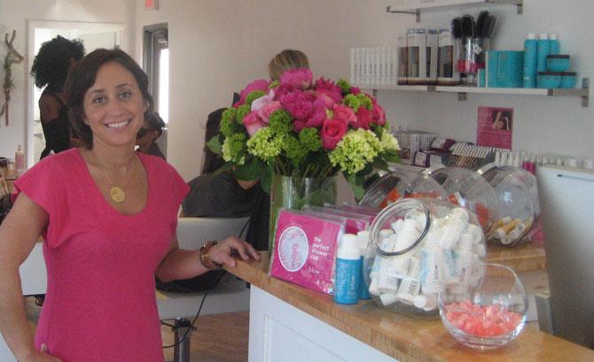 September Sirico on her new hair salon