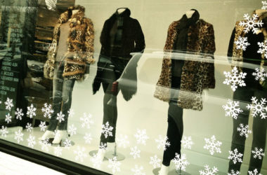 Holiday shopping on Main Street