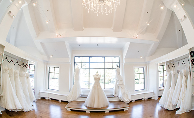 Bridal boutique owner Ashley Krauss on white dresses and inspiration