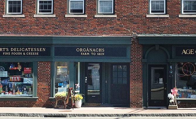 The new shop of all-natural products from around the world is tucked away in Westport.