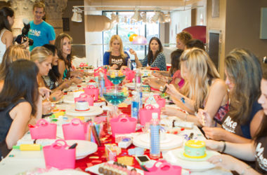 Extra photos of the actress's baby shower
