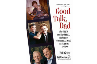 The new book by Bill Geist and Willie Geist opens up a conversation about fathers and sons