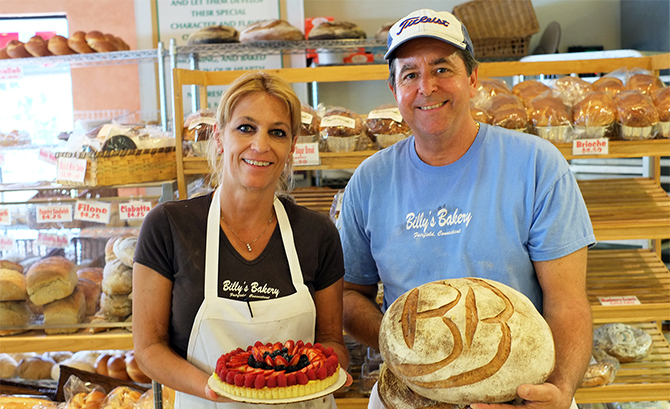 Head to Billy's for delicious bread and more!
