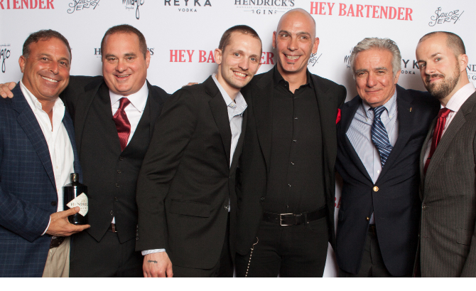 From the New York City Premiere of 'Hey Bartender'