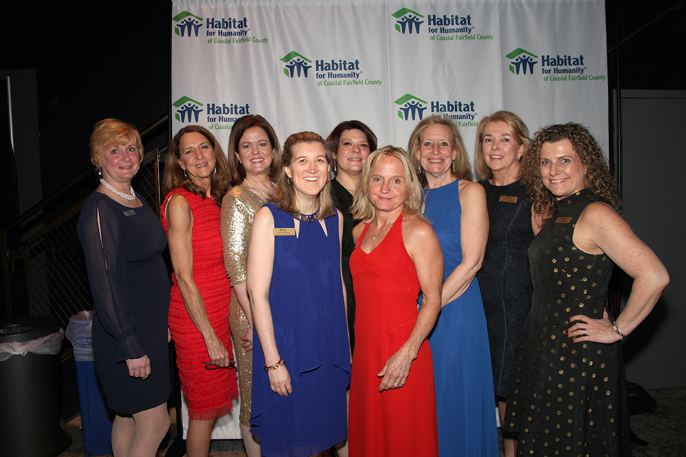 Women Build (left to right):Eileen Bakos, Amy Gillis, Mella Kernan, Lisa Goldbecker, Andrea Stone, Amy Nagy, Lorrie Stapleton, Barbara Regan, Kristin Pereira