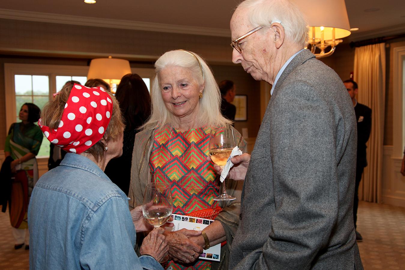 Joyce Thompson, Elizabeth Strick, David Thompson