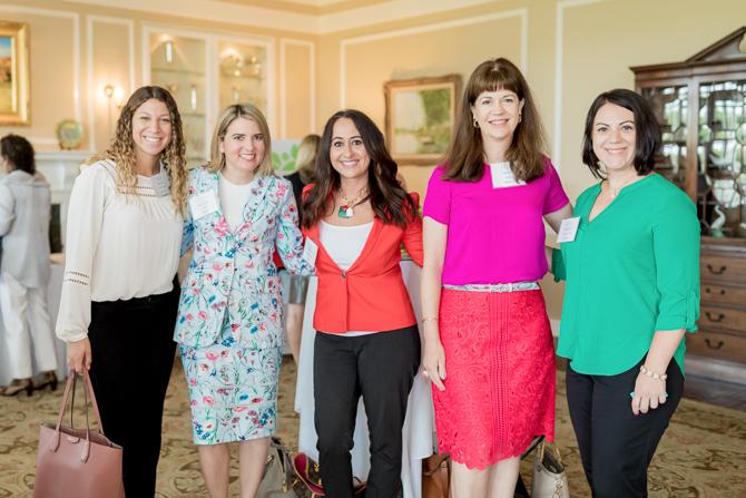 Ashley Pina, Katie Dougherty, Stella Papadopoulos, Cathie Arquilla, Melissa Mongillo