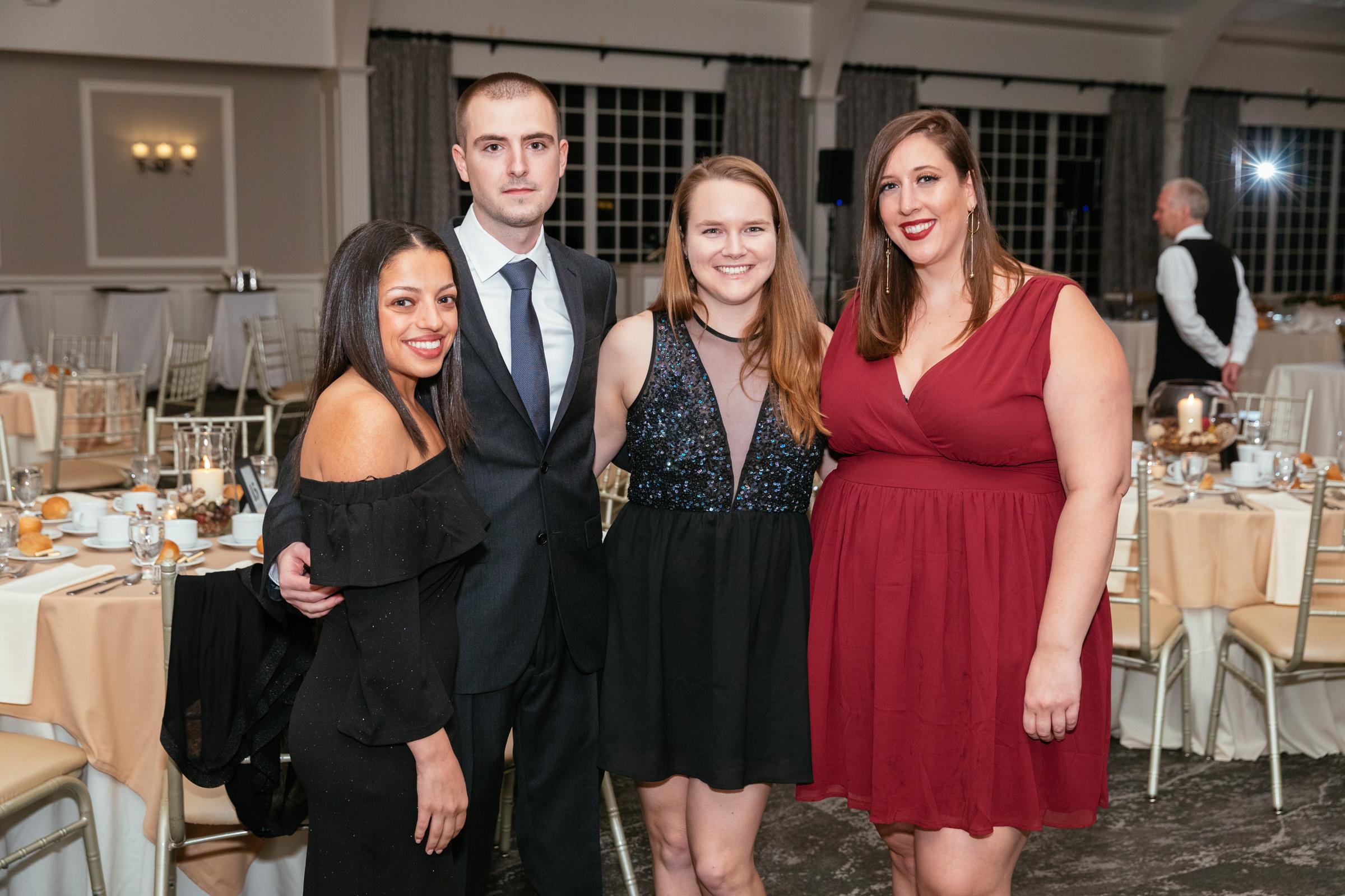 Elizabeth Carozza, Mark Carozza, Monica Garvey, Jennifer Farina