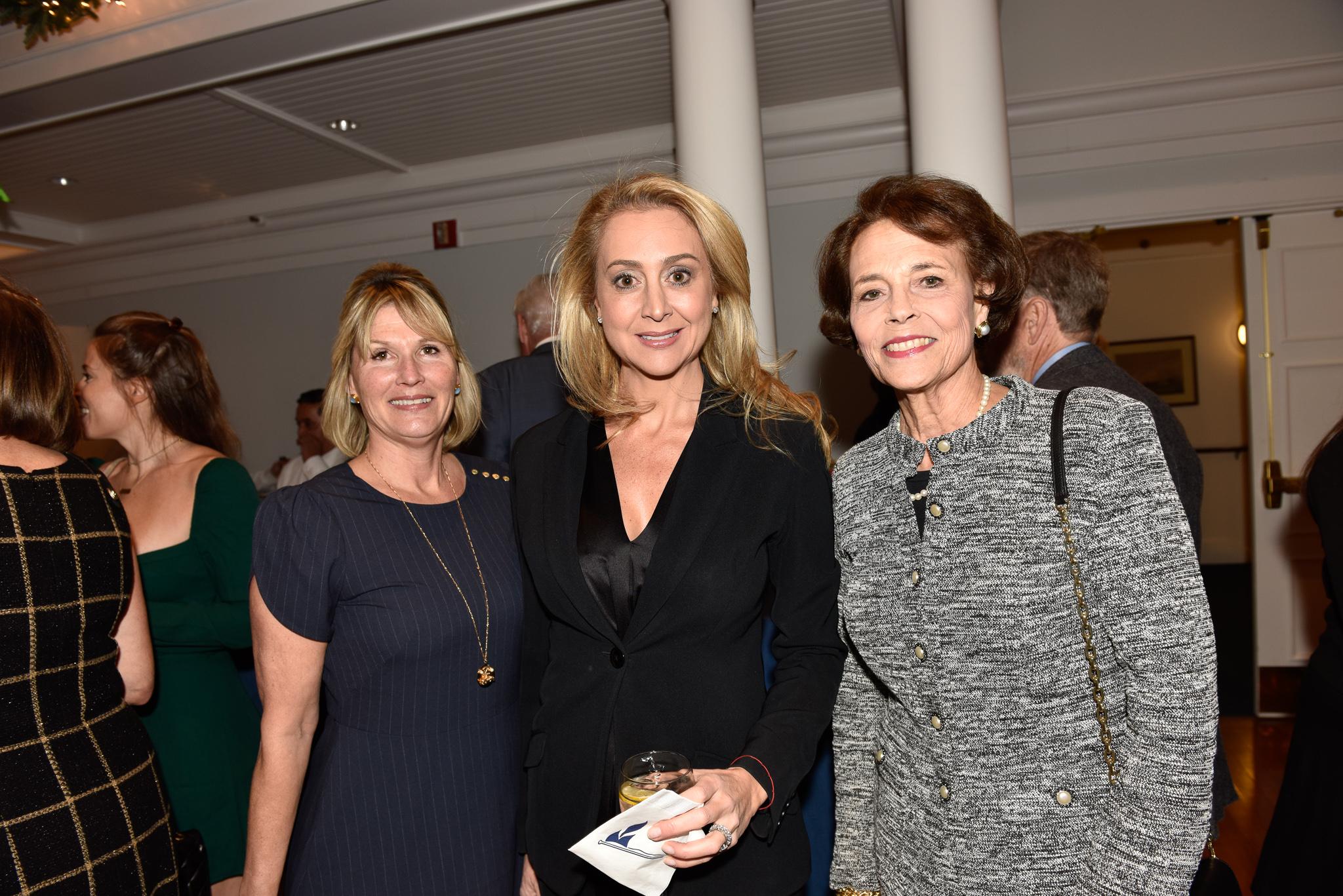 Carolyn Westerberg, Felicity Kostakis, Cricket Lockhart